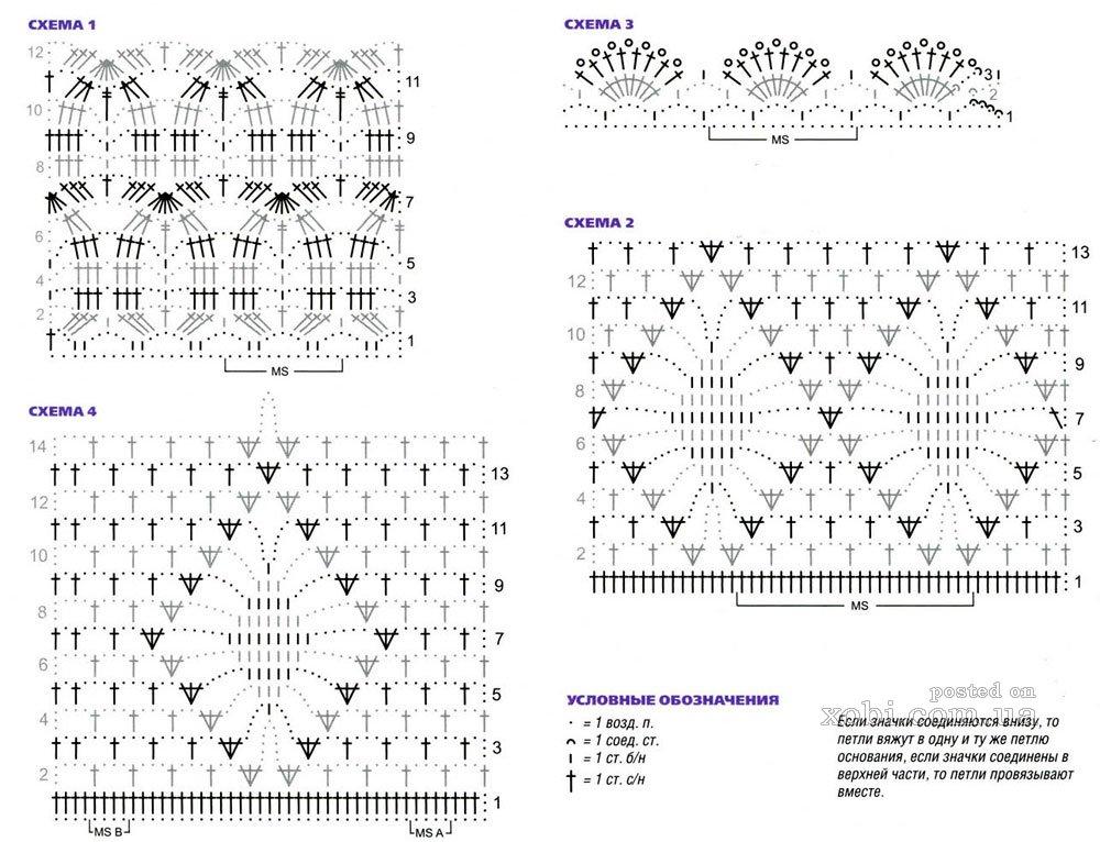 Красивые жакеты вязанные крючком модели фото схемы